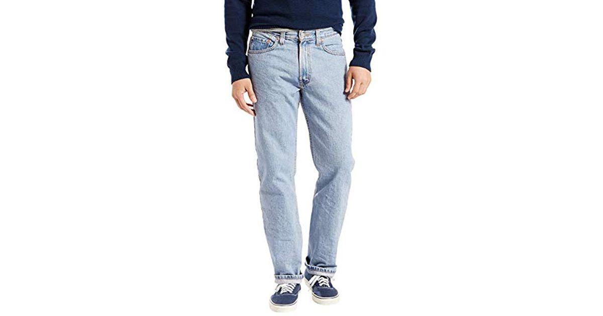22f481381e331 Levi's Blue 505 Regular Fit Jean,light Stonewash,32x30 for men