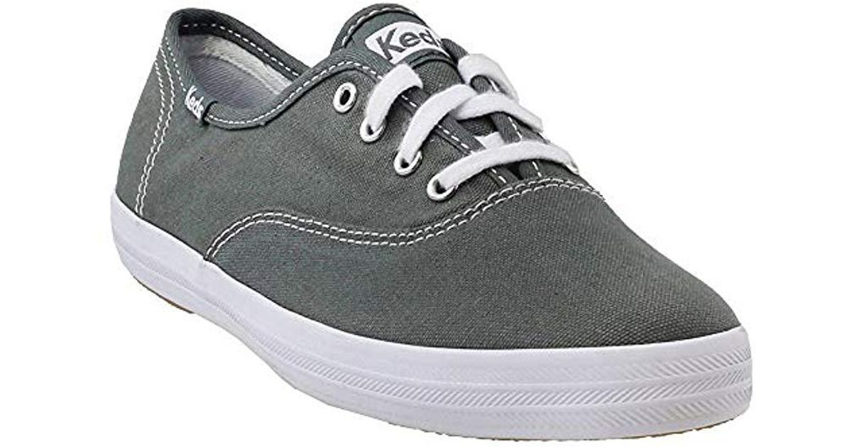 aabc71bdee4 Lyst - Keds Champion Original Canvas Sneaker in Gray