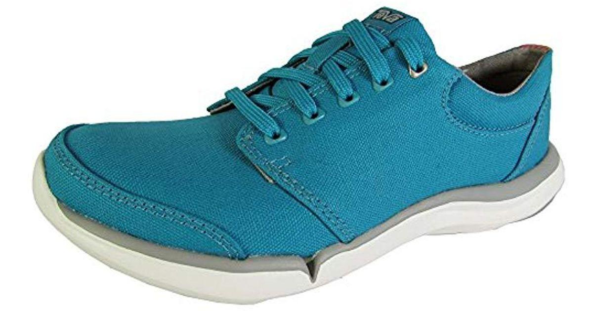 Teva Wander Low-top Canvas Shoe in Blue