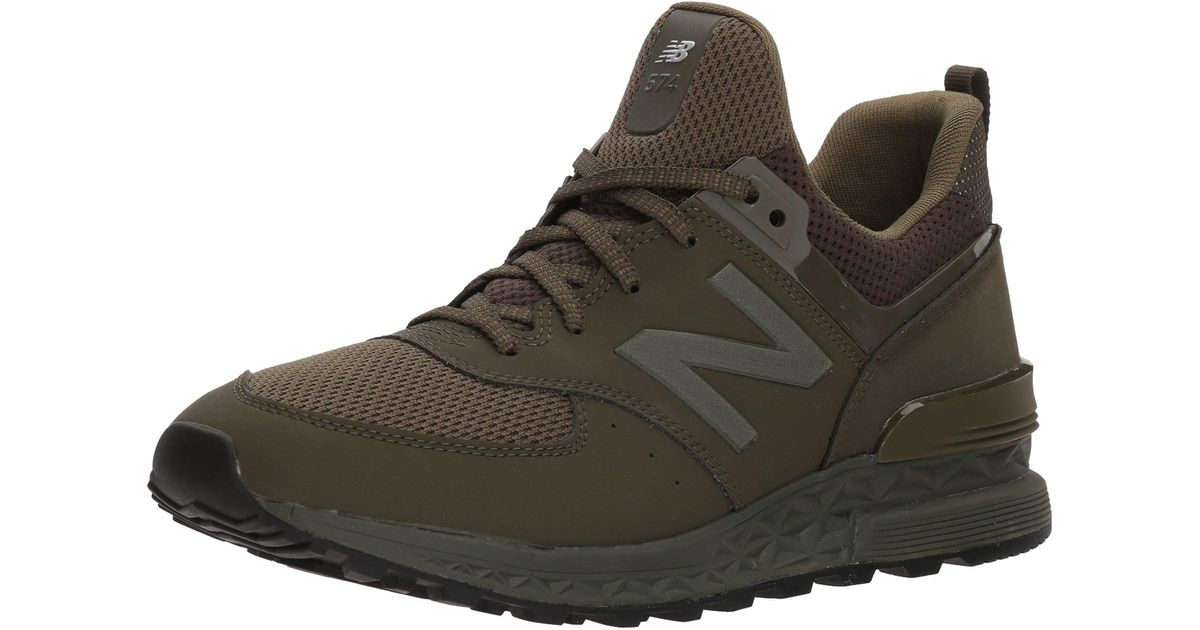 New Balance Fresh Foam 574 Sport V2 Sneaker in Army Olive/Green ...
