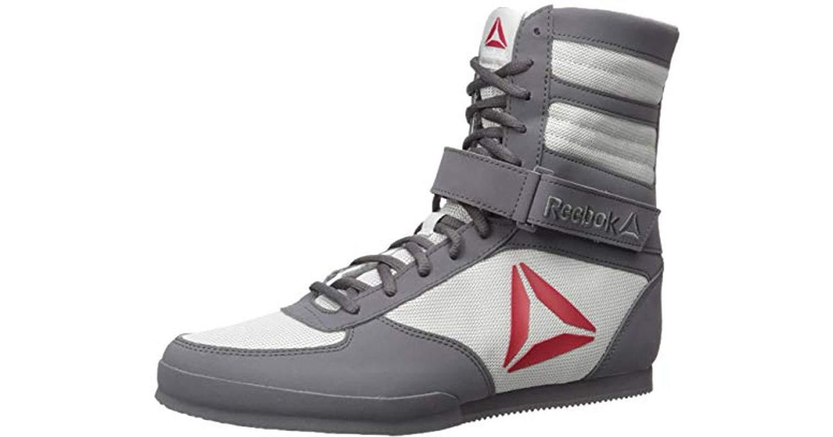 Río Paraná Jugando ajedrez Cíclope  Reebok Synthetic Boxing Boot-buck Cross Trainer in Gray for Men - Lyst