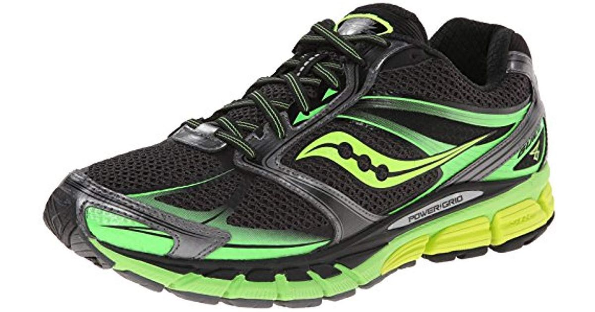 6b236a3fd4ad saucony guide 8 running shoes Lyst - Saucony Guide 8 Running Shoe in Black  for Men