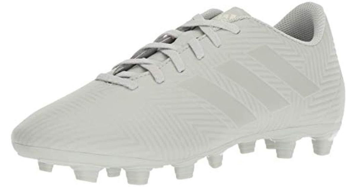 7911283ab adidas Nemeziz 18.4 Firm Ground Soccer Shoe in Metallic for Men - Lyst