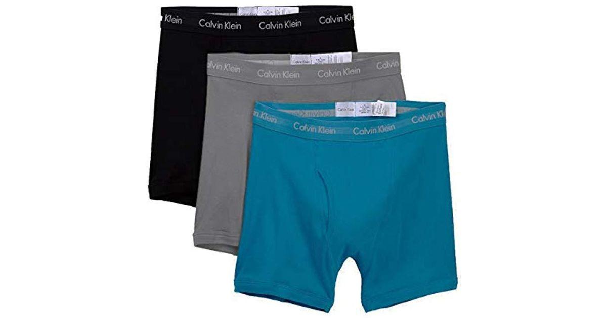 1c39103931c Lyst - Calvin Klein `s Cotton Classic Fit Boxer Briefs