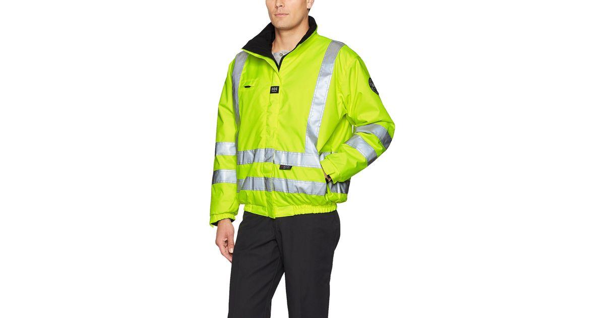 Helly-Hansen mens Workwear Motala Reversible High Visibility Jacket