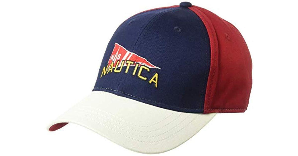 Lyst - Nautica J-class 6-panel Signal Flag Cap Hat f32f3484bae