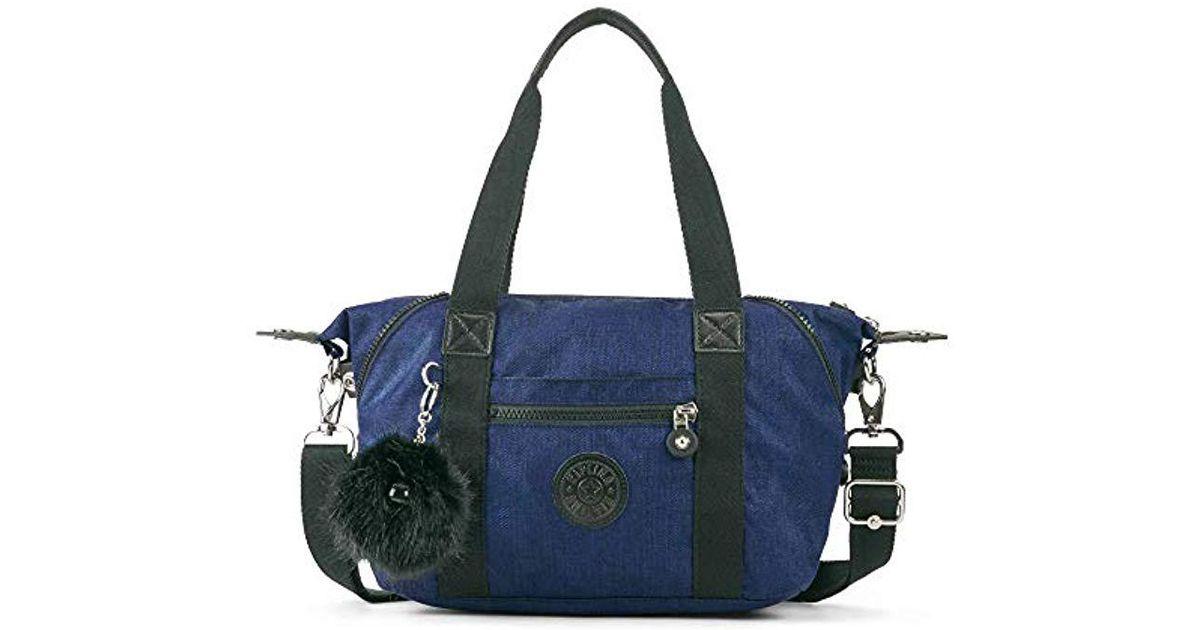 Lyst Kipling Art Solid Mini Handbag Cotton Indigo In Blue Save