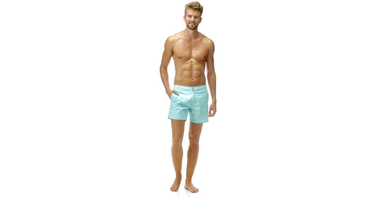 Vilebrequin Mens Merise Solid Swim Trunk
