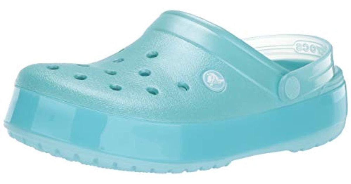 3926fc761 Lyst - Crocs™ Crocs(tm) Crocband Ice Pop Clog in Blue - Save 23%