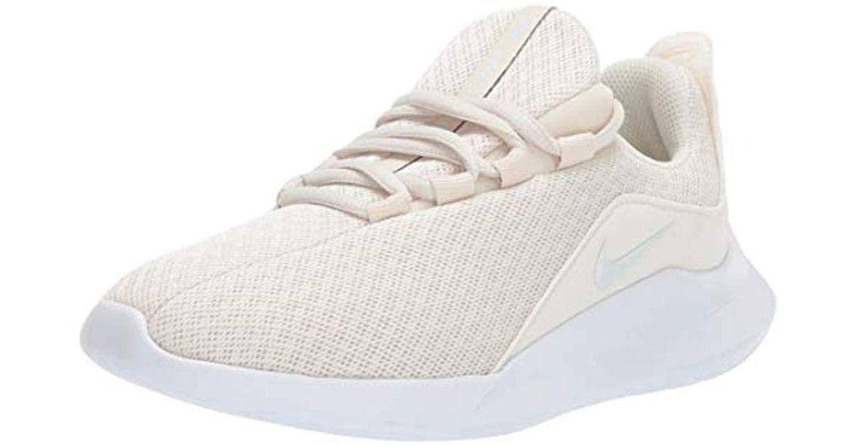 1d7930ea44eee Nike Viale Running Shoe, Light Cream/pure Platinum-white, 6 Regular Us