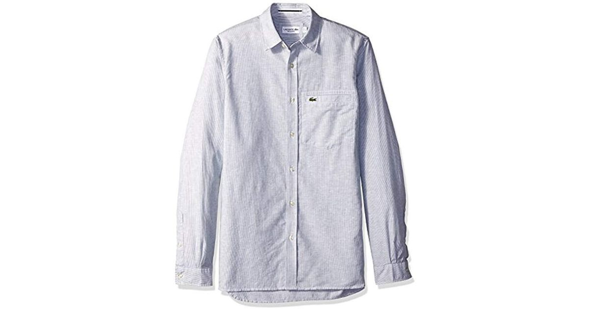 Conffetti Men Classic Fit Faded Denim Long Sleeve Casual Button Down Slim Shirts