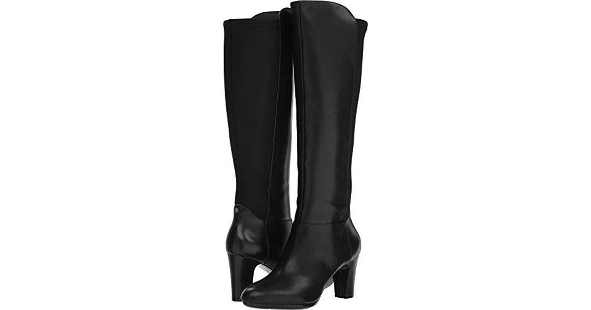 c4f750868fe Lyst - Anne Klein Sylvie Heeled Boot Knee High