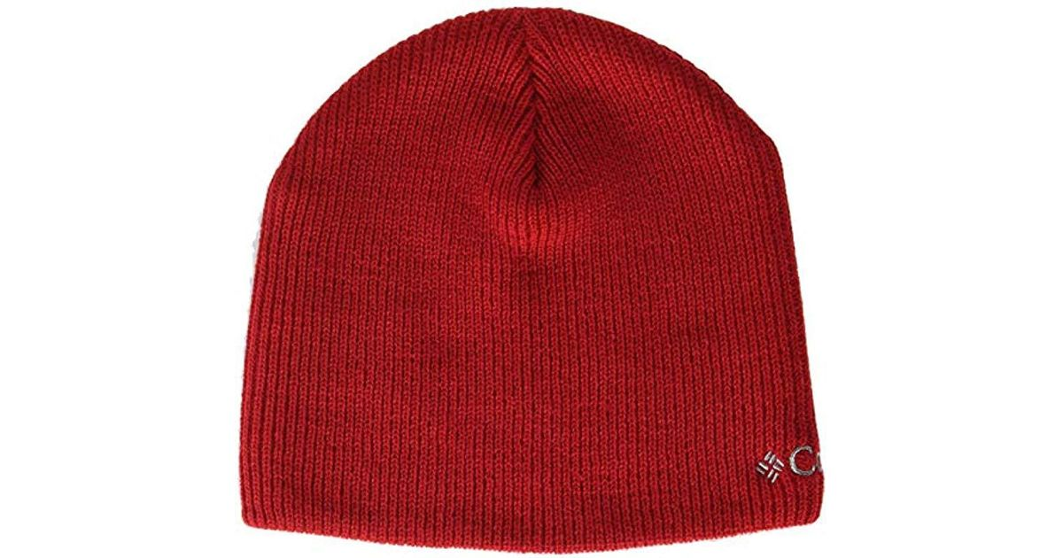 Lyst - Columbia Whirlibird Watch Cap Beanie in Red for Men 5af10f3bfbb