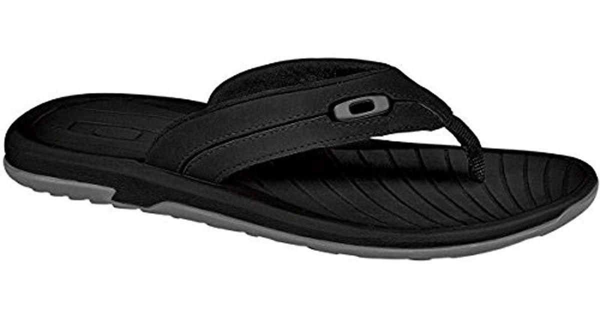 621f5771f19a0 Lyst - Oakley Dune Sandal in Black for Men