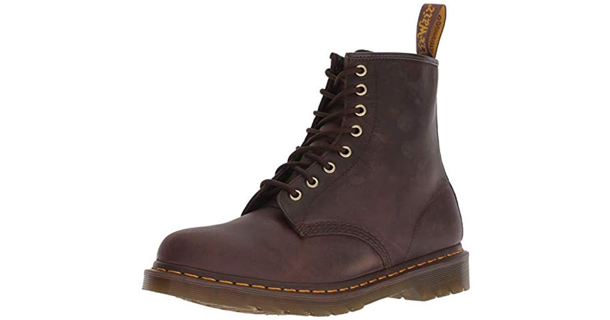 DrMartens Unisex 1460 Shoes For Brown Men Boat Adults' EHWDYeI92