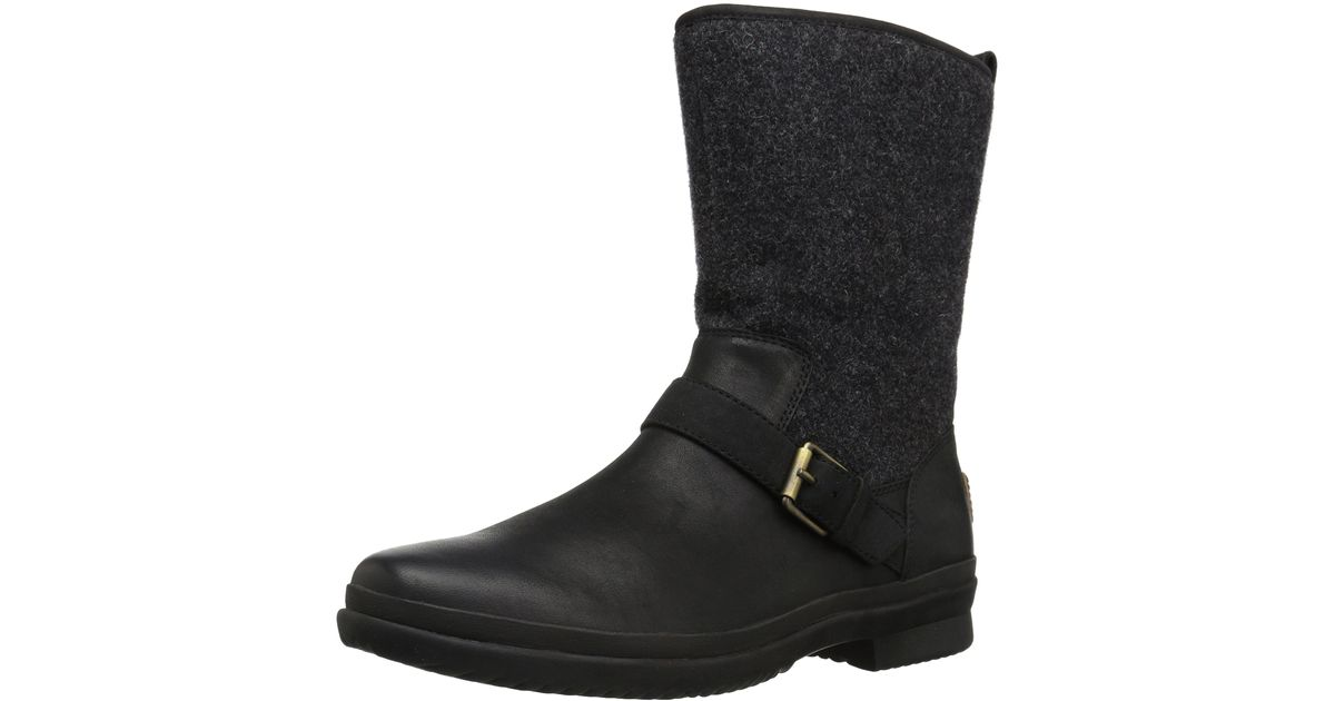 UGG Leather Robbie Fashion Sneaker