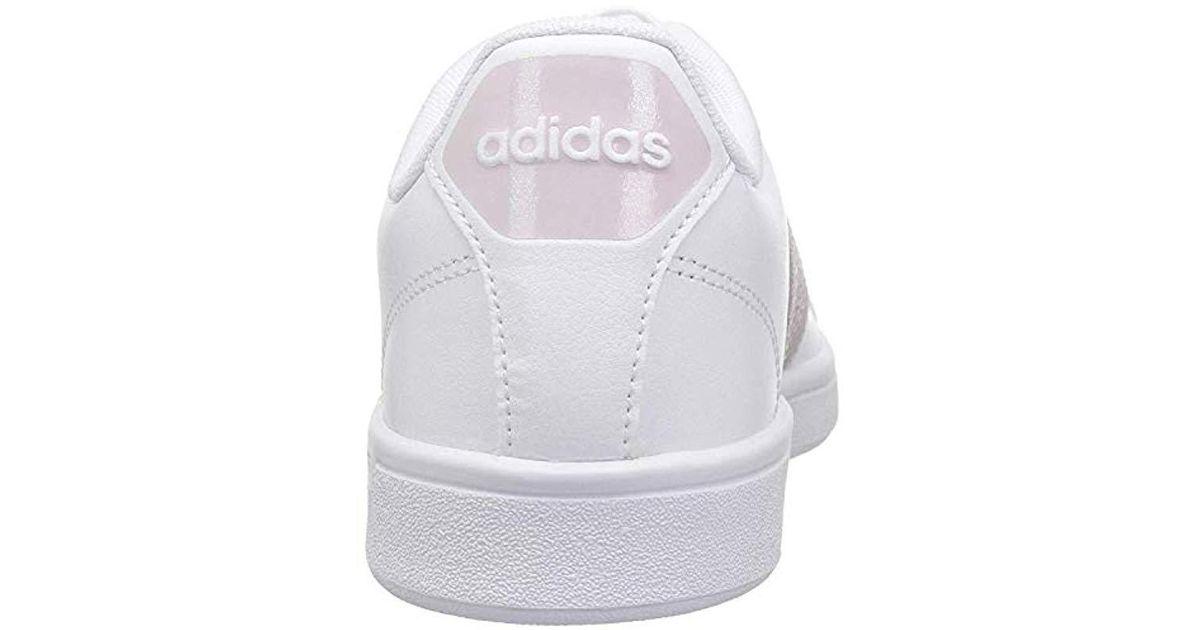 adidas Leather Cf Advantage W in White