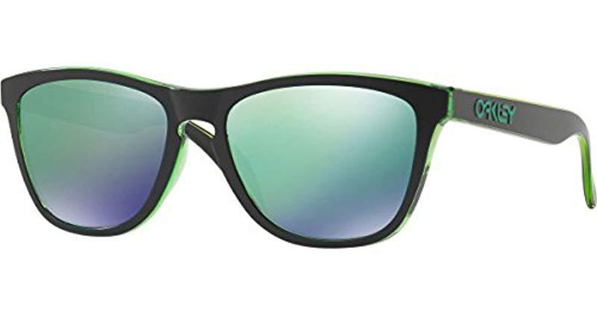 66e8d8a78d Lyst - Oakley Frogskins Prizm Checkbox Sunglasses in Green for Men