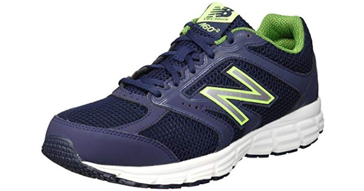 460v2 Cushioning Running Shoe in Navy
