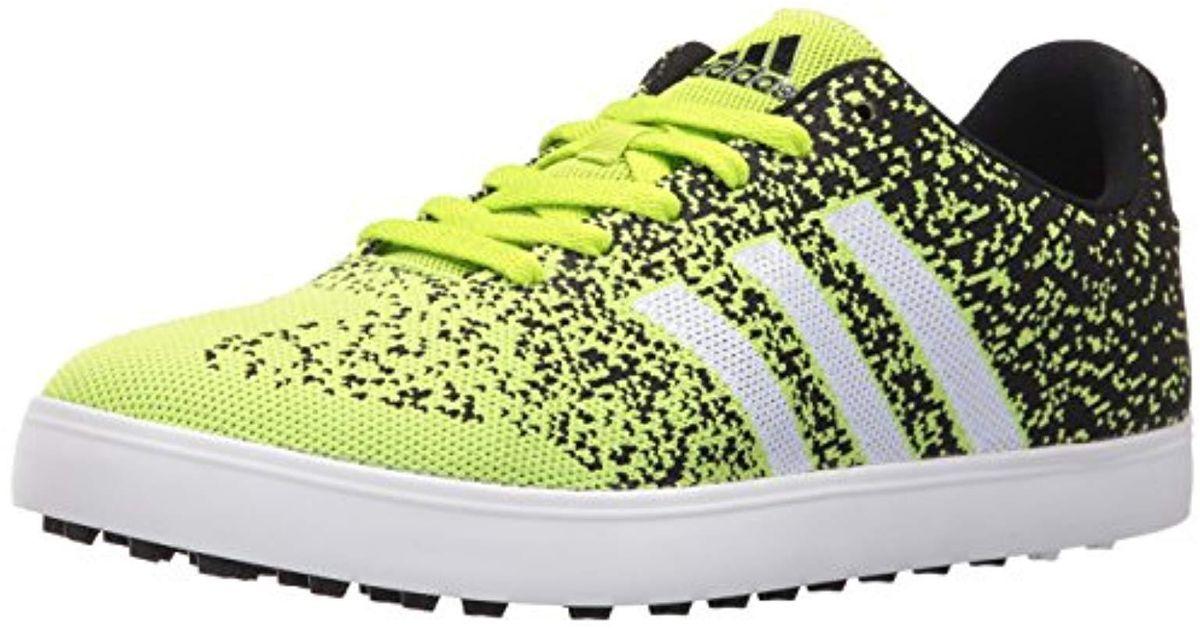 Adidas Multicolor Adicross Primeknit Golf Shoe for men