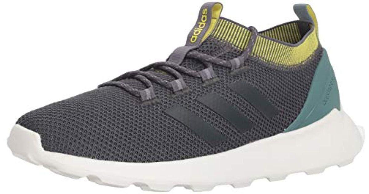 57f329f8526fa Adidas Gray Questar Rise Running Shoe, Carbon/grey, 9 M Us for men