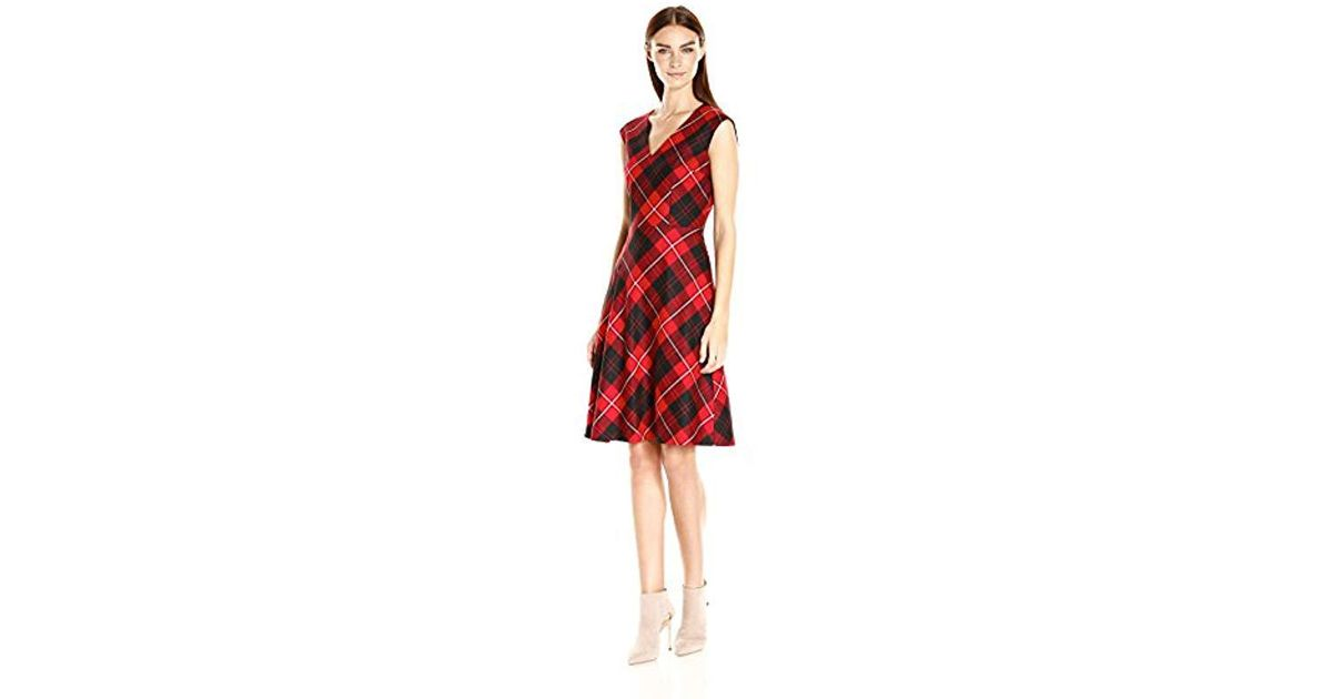 c1ceaa0f7d28 Lyst - Pendleton Natalie Plaid Dress in Red