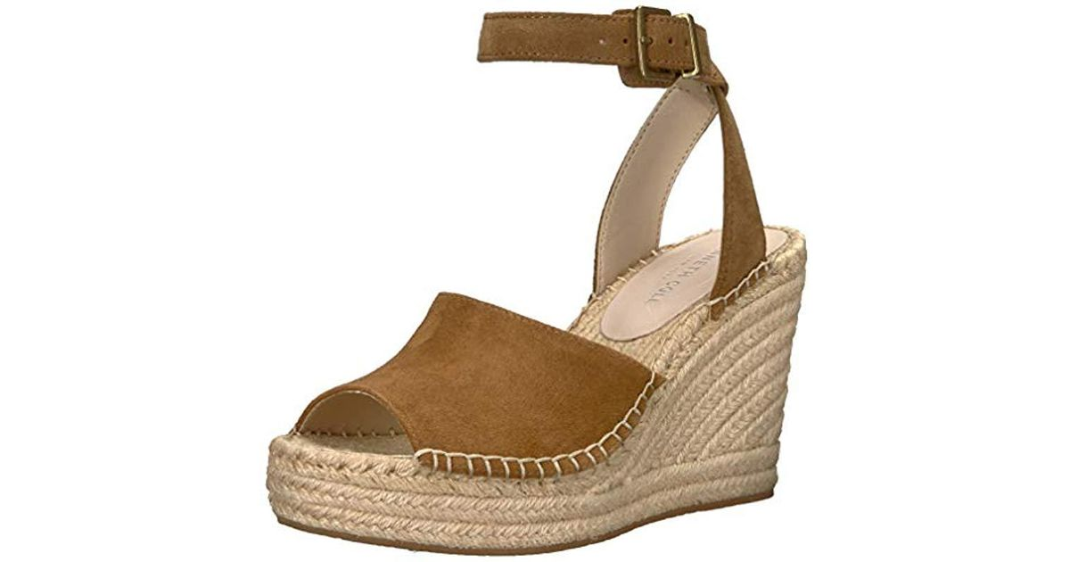 072a1008d36 Kenneth Cole Multicolor Olivia Two Piece Espadrille Wedge Sandal