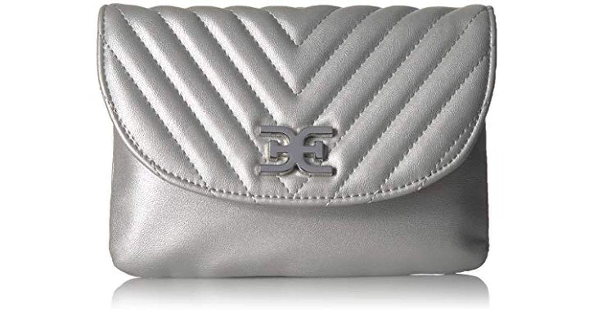 Sam Edelman Hallie Quilted Flap Belt Bag