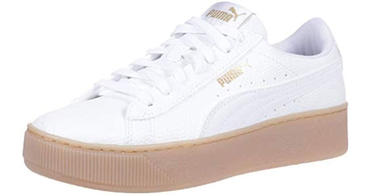 PUMA Leather Vikky Platform Vt Sneaker