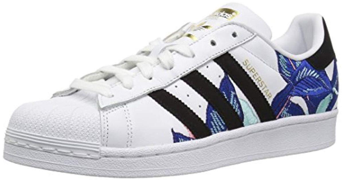 new styles d2a3f 116c3 Lyst - adidas Originals Superstar Shoes Running, Whiteblackgold Metallic,  10.5 M Us in Metallic