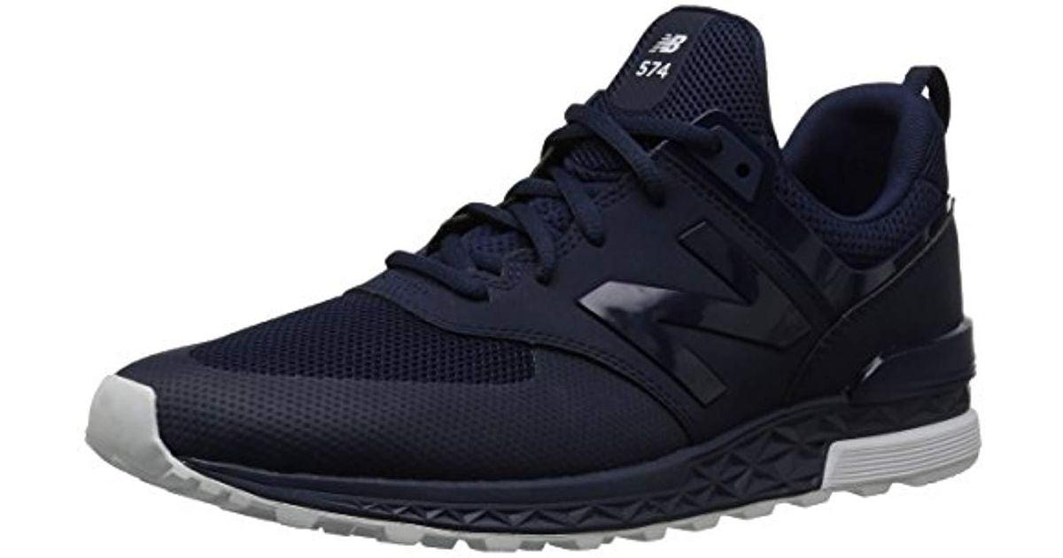new balance 574 blu e nero