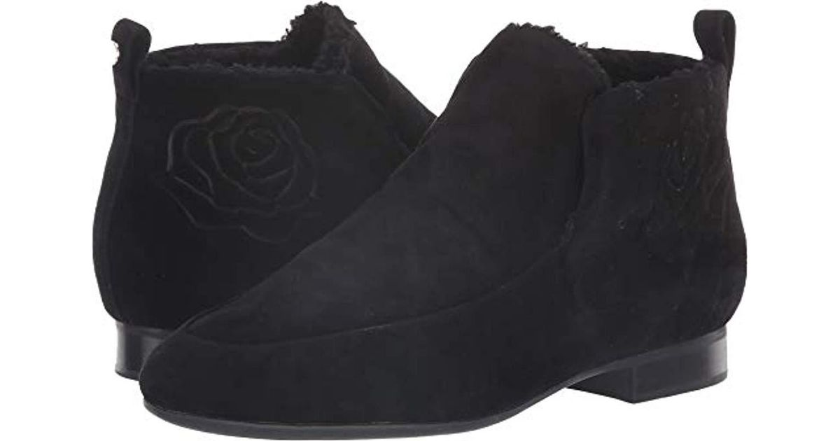 6d5a1364307 Lyst - Taryn Rose Brielle Ankle Boot in Black - Save 10%