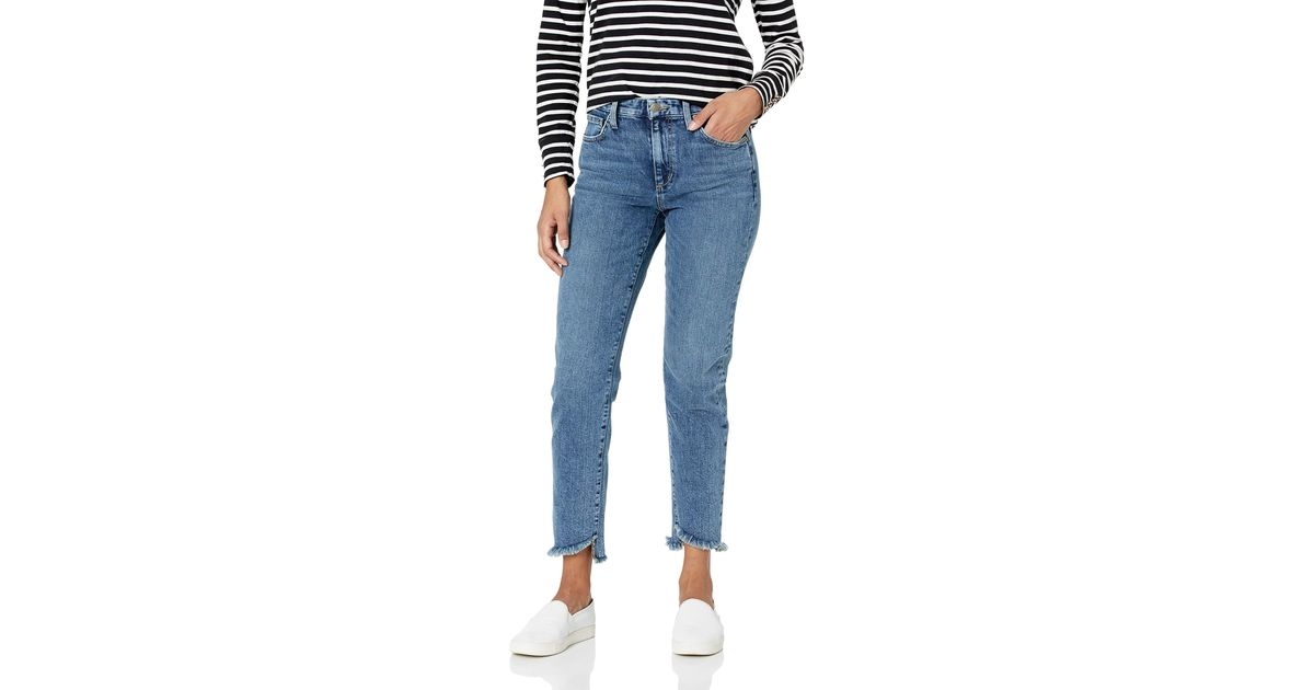 Joes Jeans Womens Smith High Rise Straight Ankle Jean