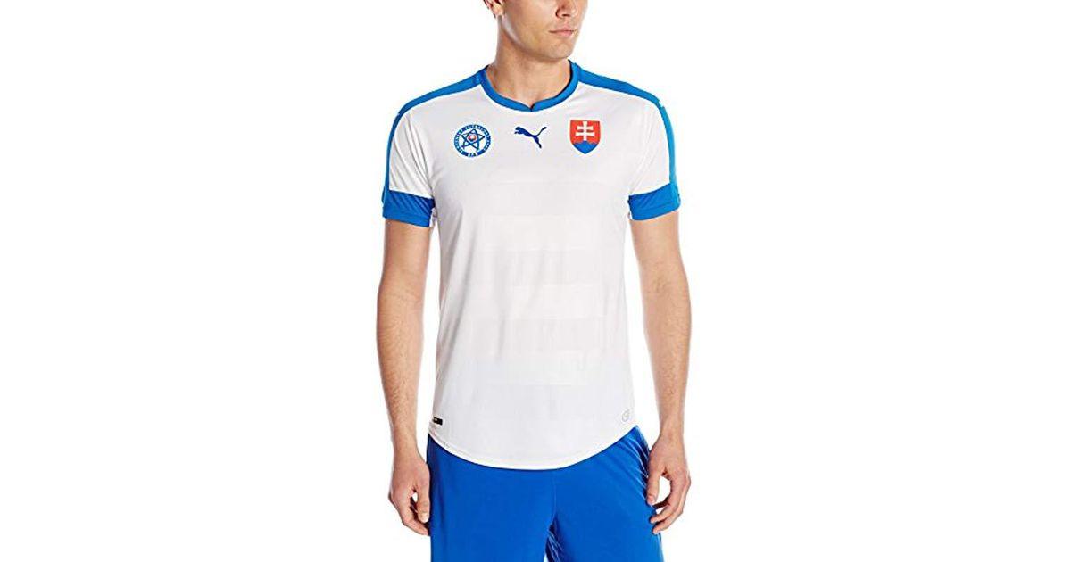 fcb803b40e23b PUMA White Czech Republic Away Replica Shirt for men