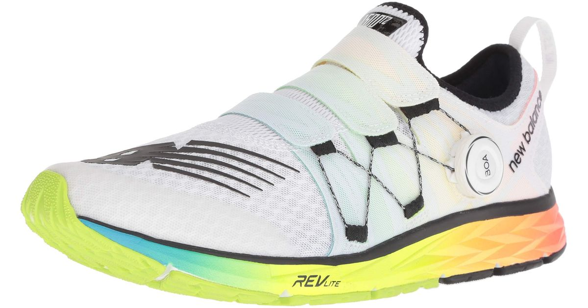 New Balance 1500v4 Boa Running Shoes in White for Men - Save ...