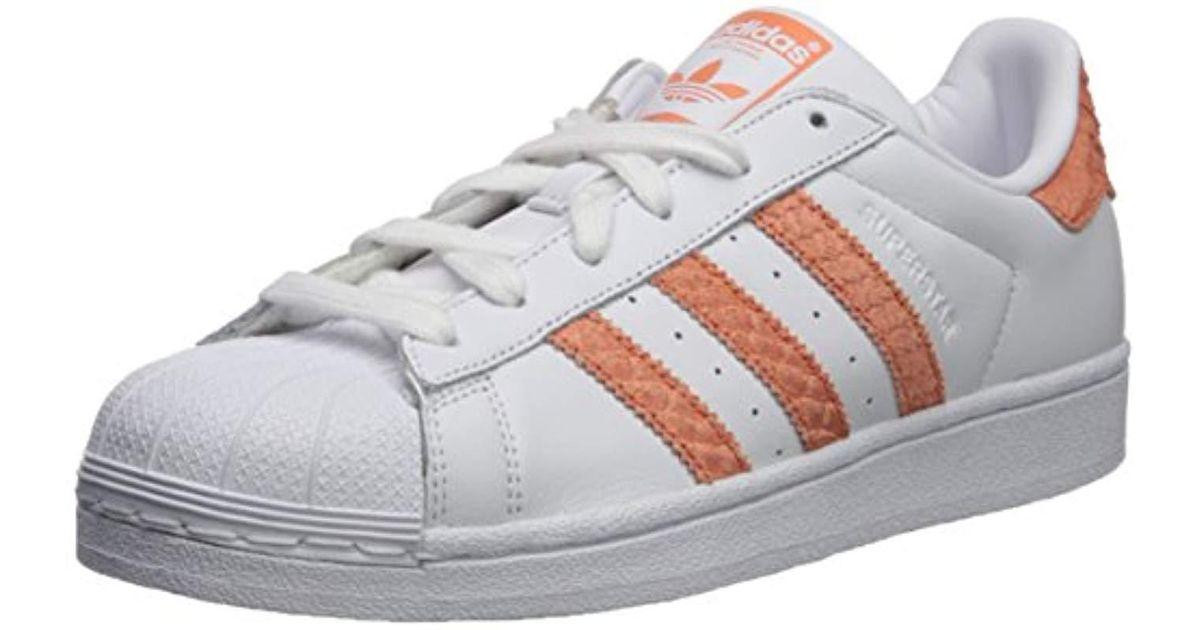 zapatillas de deporte para baratas Cantidad limitada estilos frescos adidas Originals Leather Adidas Superstar W, White/chalk Coral ...