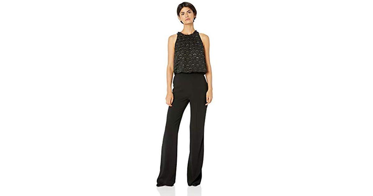 32768a22a9da Lyst - Ramy Brook Leona Patterned Jumpsuit in Black