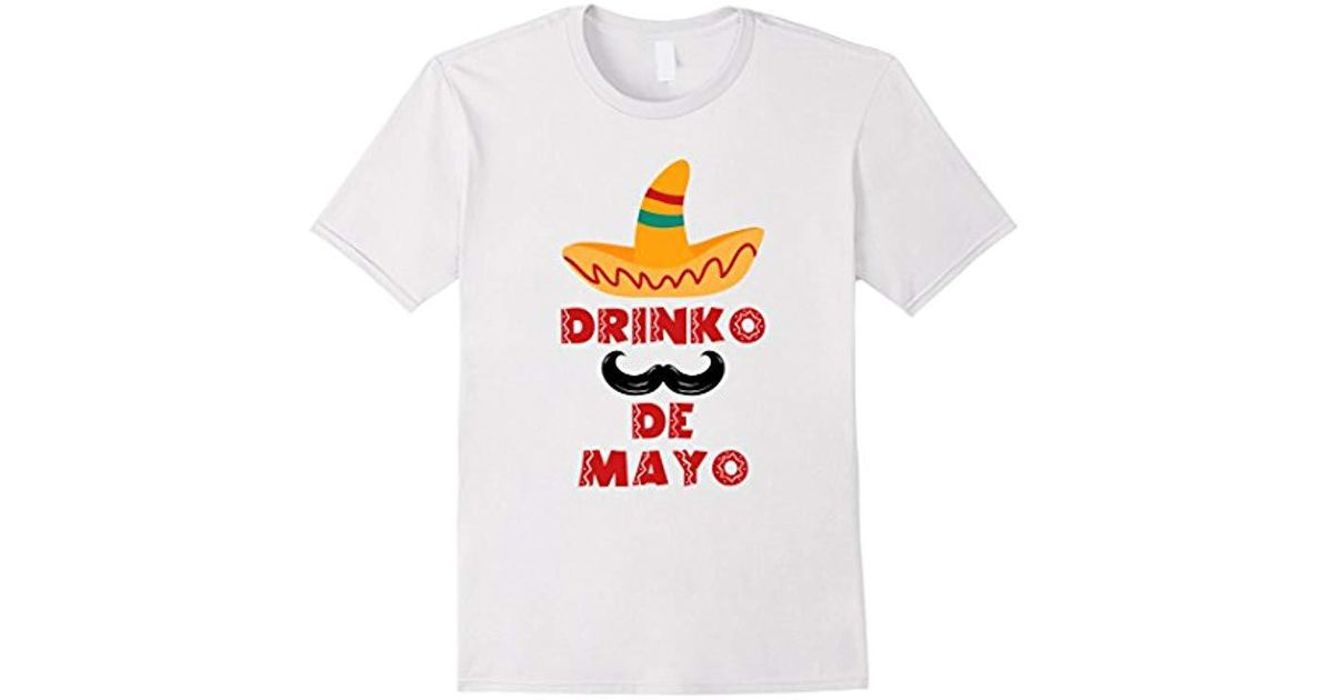 American Apparel White Funny Five Of May Lover Quotes Gift Cinco De Mayo T Shirt