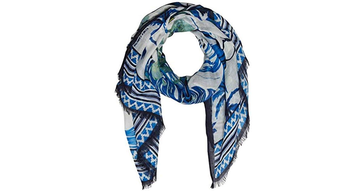 e578aab3a Vince Camuto Island Life Twill Wrap in Blue - Lyst