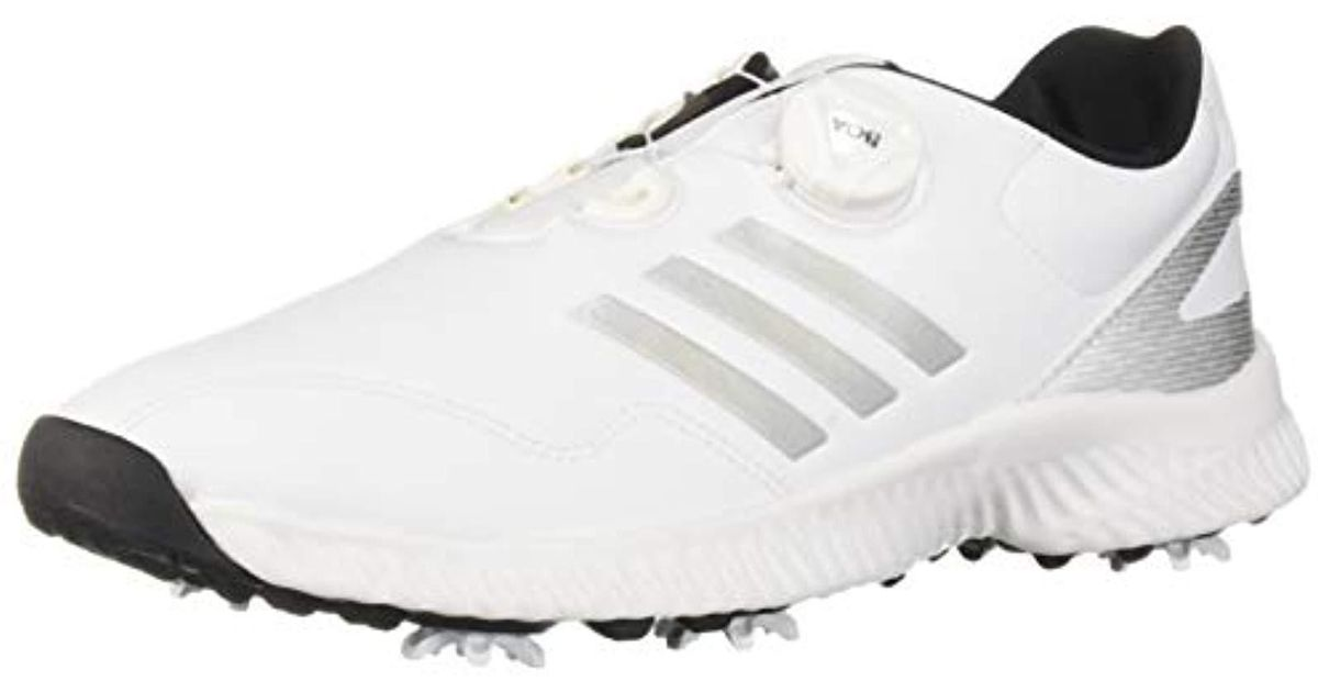 75b403d5d Lyst - adidas S Response Bounce Boa Golf Shoe in White
