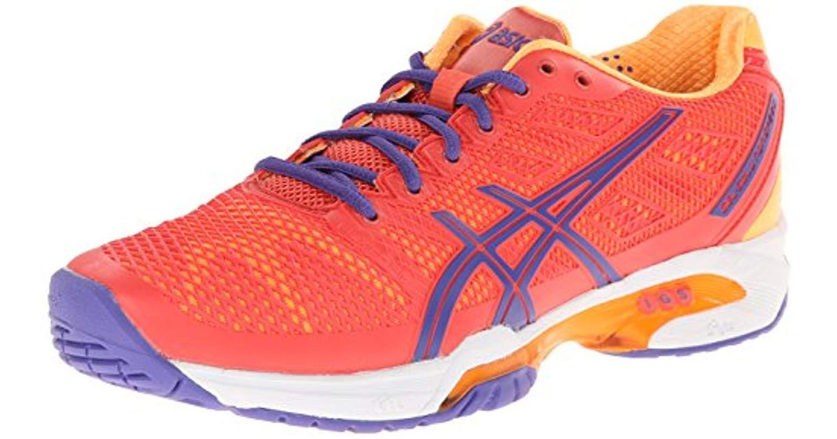 598b3167 Asics Multicolor Gel Solution Speed 2 Clay Tennis Shoe