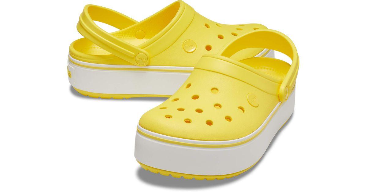 Crocs™ Crocband Platform Clog in