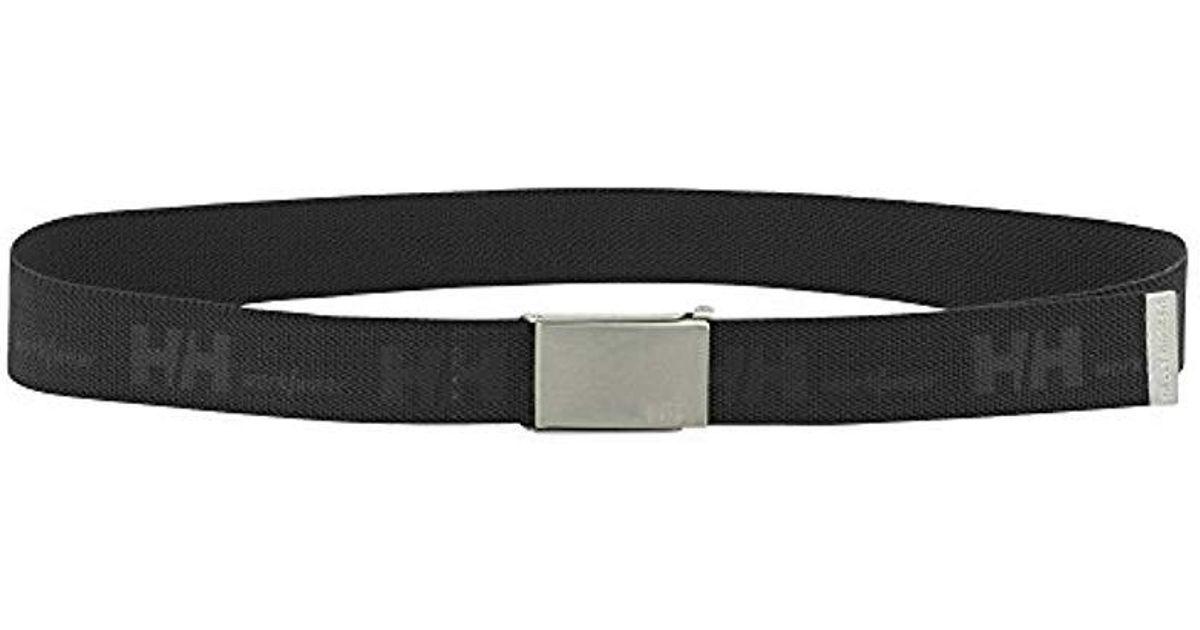 f9af54396 Lyst - Helly Hansen Workwear Hh Logo Webbing Belt in Black for Men