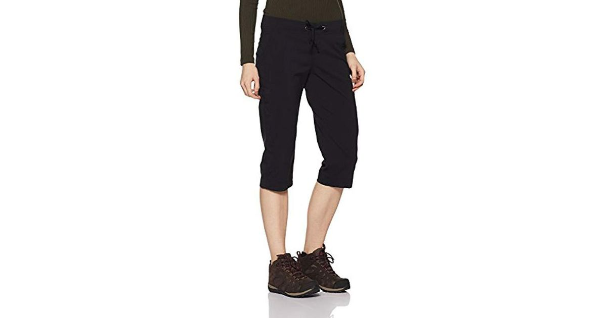 Columbia Womens Anytime Outdoor Capri Water and Stain Repellent