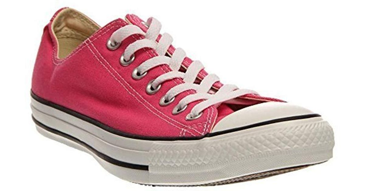 eb49df501328 Lyst - Converse Chuck Taylor All Star Low Top in Pink for Men