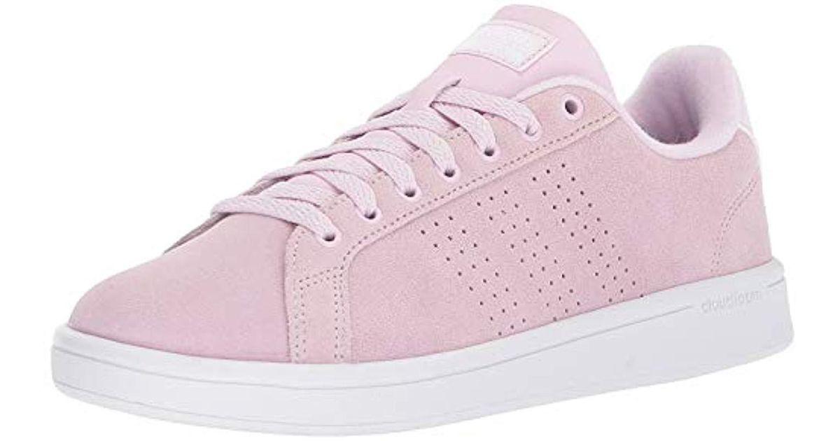adidas cloudfoam advantage clean pink cheap online