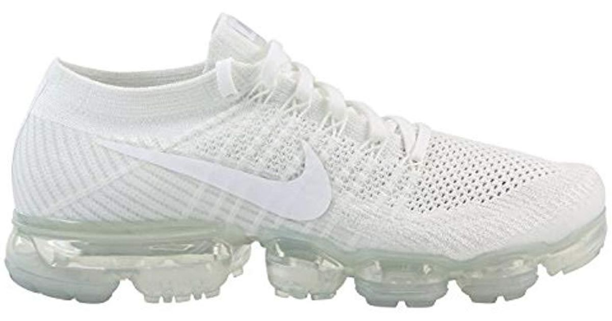 promo code bd701 9a4a4 Nike - Air Vapormax Flyknit 'triple White' for Men - Lyst