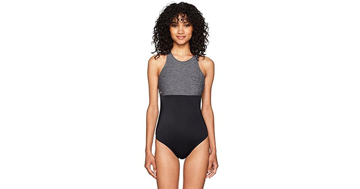 1f73e70d2c733 Lyst - Roxy Keep Fashion One Piece Swimsuit in Black