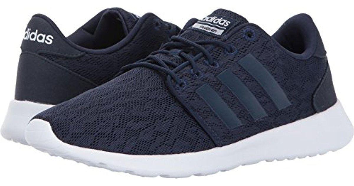 Lyst Qt Adidas Cf Qt Lyst Racer Running Shoe in Blue for Men e82711