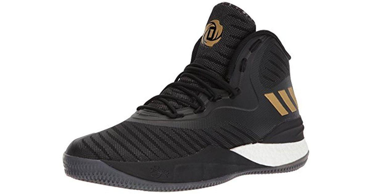 Adidas Originals Black D Rose 8 for men